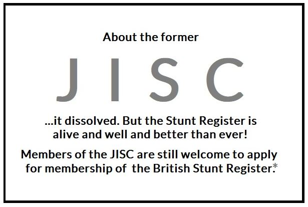 THE STUNT REGISTER IS ALIVE AND WELL…